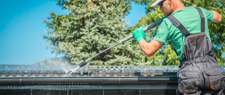 Residential roof cleaning bay area