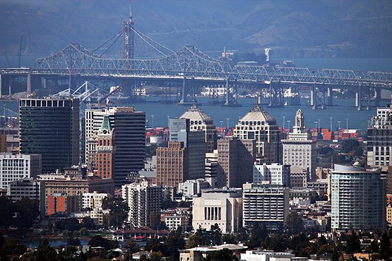 Oakland City Skyline