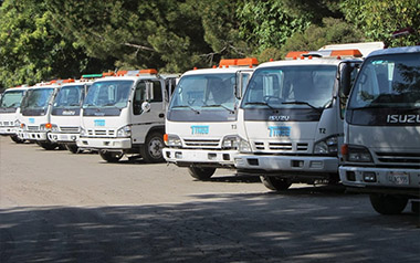 Clean Sweep Fleet of Street Sweepers